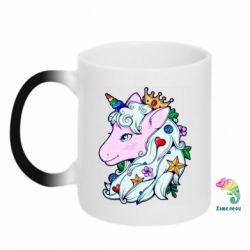 Кружка-хамелеон Unicorn Princess
