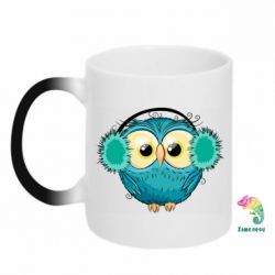 Кружка-хамелеон Winter owl
