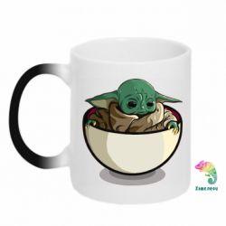 Кружка-хамелеон Йода