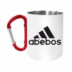 """Кружка с ручкой """"карабин"""" ab'ebos"""