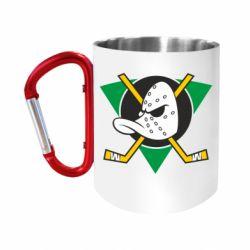 "Кружка с ручкой ""карабин"" Anaheim Mighty Ducks"