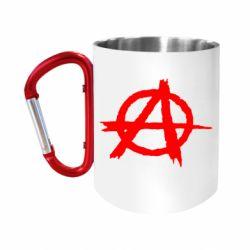 """Кружка с ручкой """"карабин"""" Anarchy"""