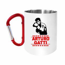 Кружка з ручкою-карабіном Arturo Gatti