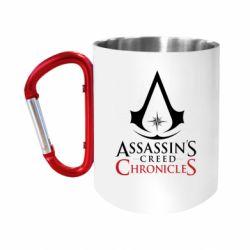 Кружка з ручкою-карабіном Assassin's creed ChronicleS