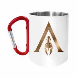Кружка з ручкою-карабіном Assassin's Creed: Odyssey logo