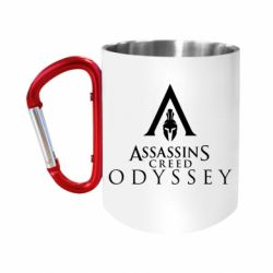 Кружка з ручкою-карабіном Assassin's Creed: Odyssey logotype
