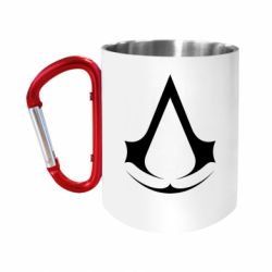 Кружка з ручкою-карабіном Assassin's Creed