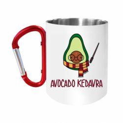 Кружка з ручкою-карабіном Avocado kedavra