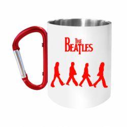 Кружка з ручкою-карабіном Beatles Group