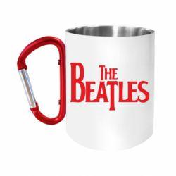 Кружка з ручкою-карабіном Beatles