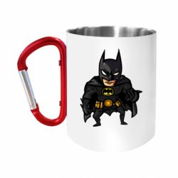 Кружка з ручкою-карабіном Бетмен Арт