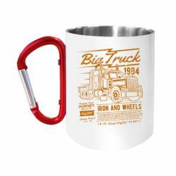 Кружка з ручкою-карабіном Big Truck 2