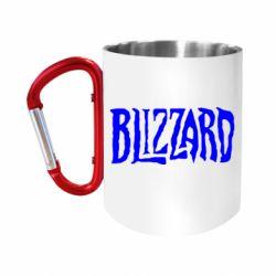 Кружка з ручкою-карабіном Blizzard Logo