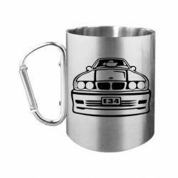 """Кружка с ручкой """"карабин"""" BMW E34"""