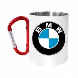 "Кружка с ручкой ""карабин"" BMW Small"