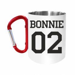 Кружка з ручкою-карабіном Bonnie 02