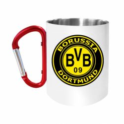 Кружка з ручкою-карабіном Borussia Dortmund