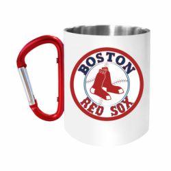 Кружка з ручкою-карабіном Boston Red Sox