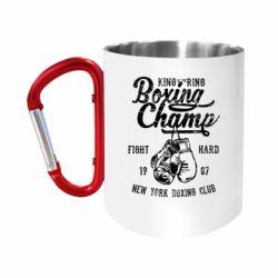 Кружка з ручкою-карабіном Boxing Champ