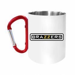 Кружка з ручкою-карабіном Brazzers