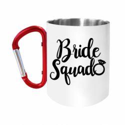 Кружка з ручкою-карабіном Bride Squad