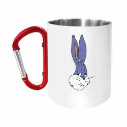 """Кружка з ручкою """"карабін"""" Bugs Bunny Meme Face"""
