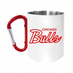 Кружка з ручкою-карабіном Bulls from Chicago