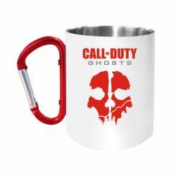 Кружка з ручкою-карабіном Call of Duty Ghosts