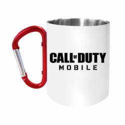 """Кружка с ручкой """"карабин"""" Call of Duty Mobile"""