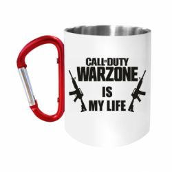 "Кружка с ручкой ""карабин"" Call of duty warzone is my life M4A1"