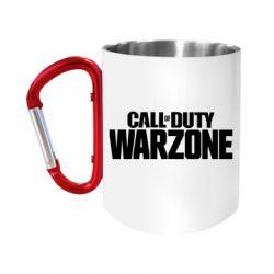 Кружка з ручкою-карабіном Call of Duty: Warzone