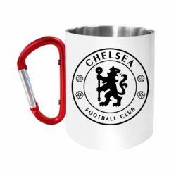 Кружка з ручкою-карабіном Chelsea Club