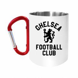 Кружка з ручкою-карабіном Chelsea Football Club