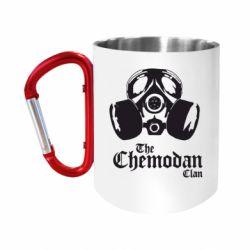 Кружка з ручкою-карабіном Chemodan