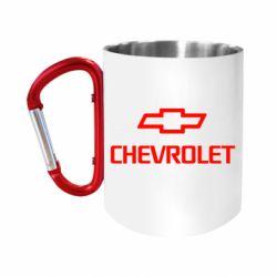 Кружка з ручкою-карабіном Chevrolet Small