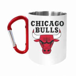 """Кружка с ручкой """"карабин"""" Chicago Bulls Classic"""
