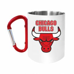 Кружка з ручкою-карабіном Chicago Bulls vol.2