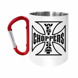 Кружка з ручкою-карабіном Choppers