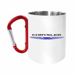 Кружка з ручкою-карабіном Chrysler