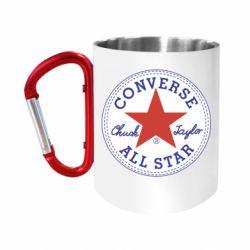 Кружка з ручкою-карабіном Converse