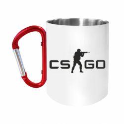"""Кружка с ручкой """"карабин"""" Counter Strike GO"""