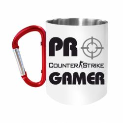 "Кружка с ручкой ""карабин"" Counter Strike Pro Gamer"