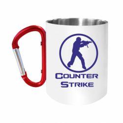 """Кружка с ручкой """"карабин"""" Counter Strike"""