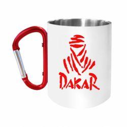 Кружка з ручкою-карабіном Dakar