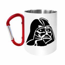 """Кружка с ручкой """"карабин"""" Darth Vader"""