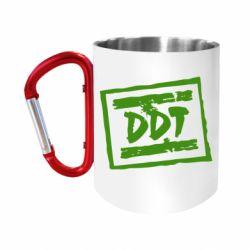 Кружка з ручкою-карабіном DDT (ДДТ)