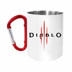 """Кружка с ручкой """"карабин"""" Diablo 3"""