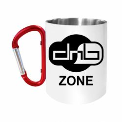 """Кружка с ручкой """"карабин"""" DnB Zone"""