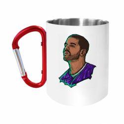 """Кружка с ручкой """"карабин"""" Drake"""