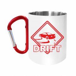 """Кружка с ручкой """"карабин"""" Drift"""